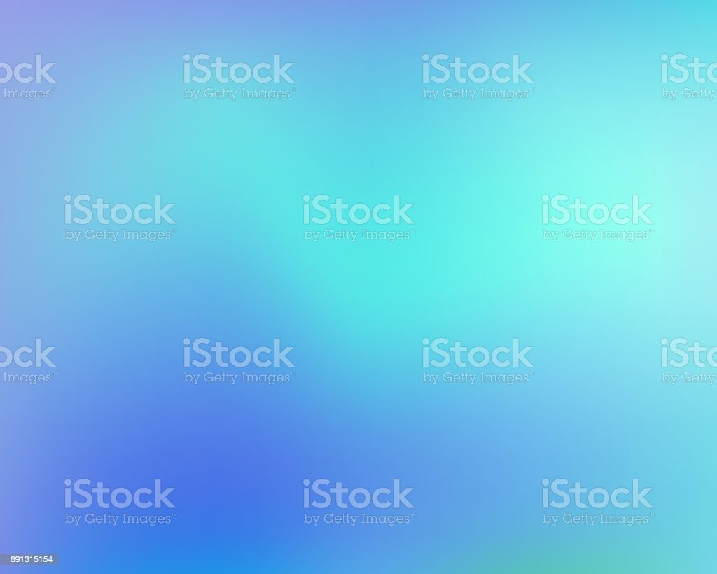 Blue abstract gradient background. Vector illustration. - Royalty-free Abstrato arte vetorial
