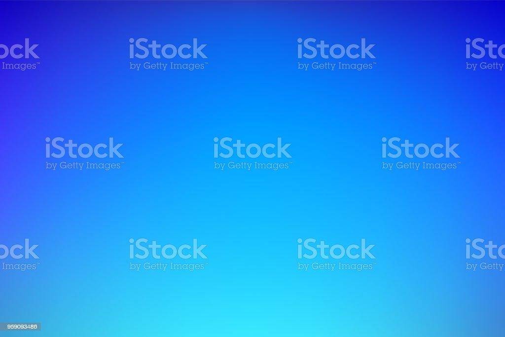 Blue abstract gradient mesh background vector art illustration