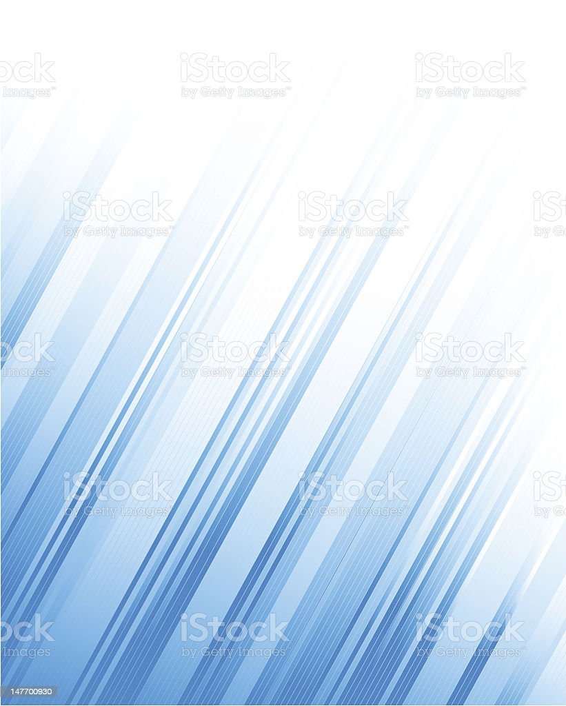 Blue abstract lines royalty-free stock vector art