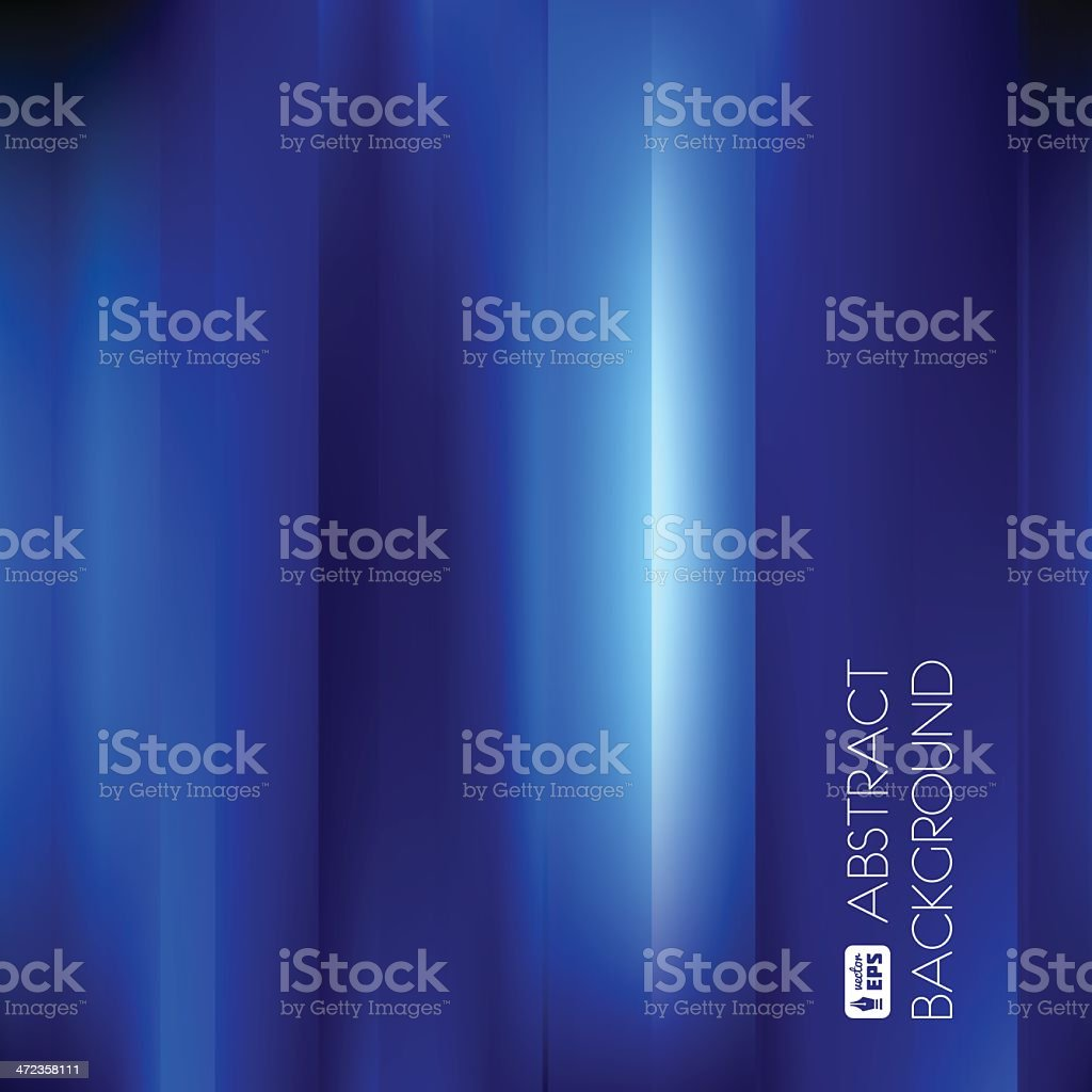Blue Abstract Striped Background. royalty-free stock vector art