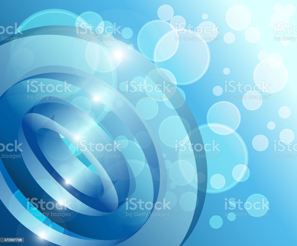 Blue abstract technology background vector art illustration