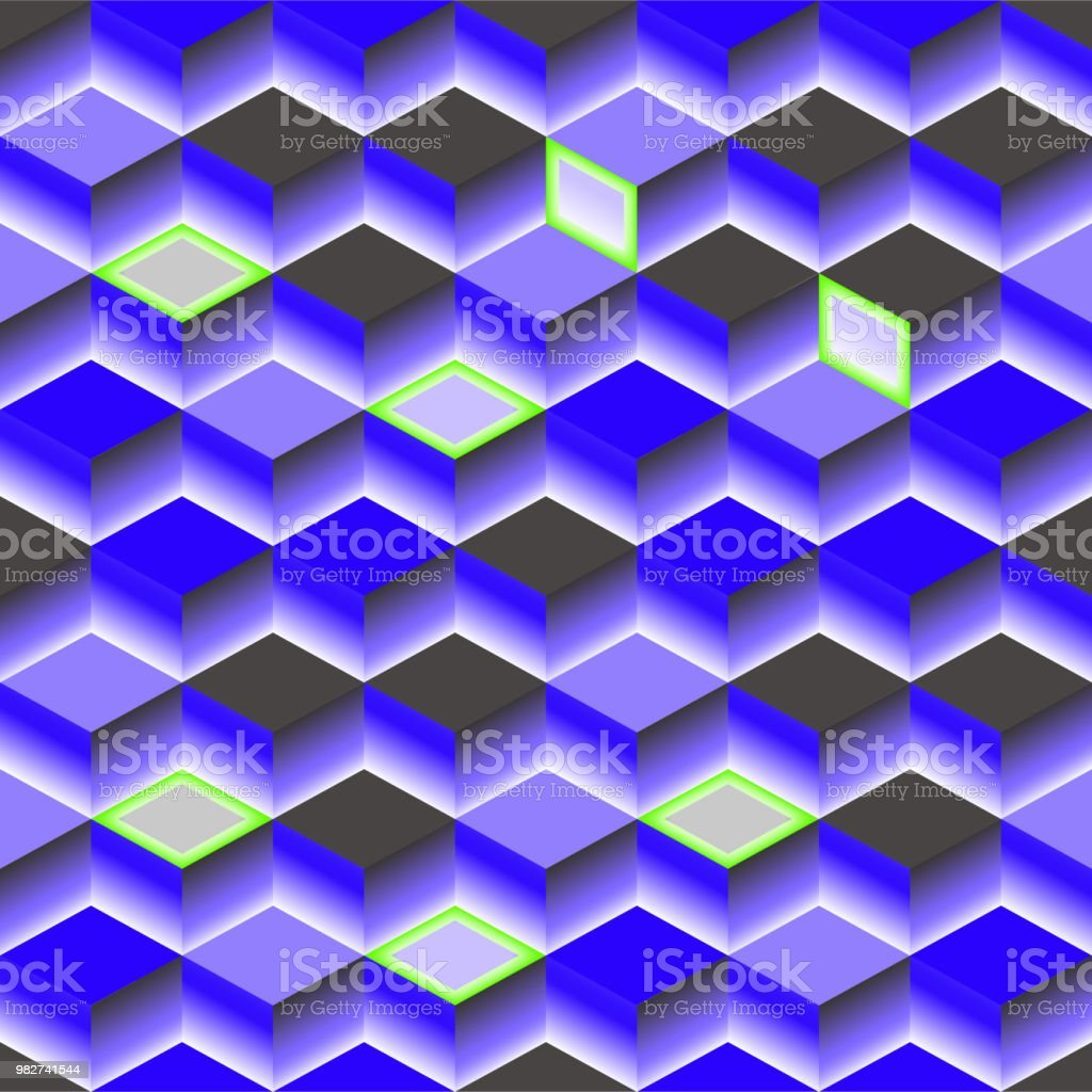 Blue Abstract Texture Vector Background D Cube For Cover Book Website Design