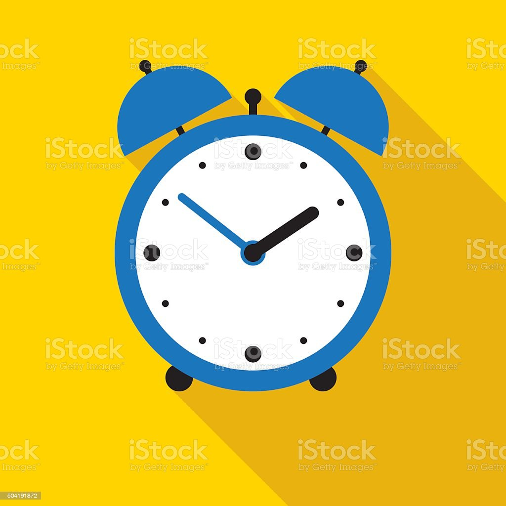 royalty free single object and white background and alarm clock clip rh istockphoto com Digital Clock Coloring Page Analog Clock Clip Art