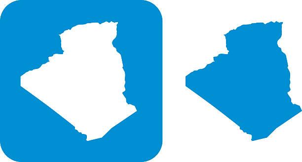 blue algeria icon - 阿爾及利亞 幅插畫檔、美工圖案、卡通及圖標