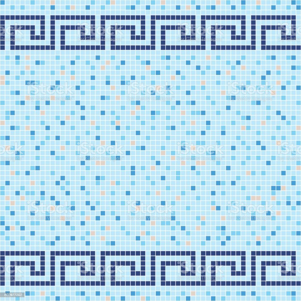 Blue and beige ceramic tile mosaic pattern stock vector art blue and beige ceramic tile mosaic pattern royalty free stock vector art dailygadgetfo Images