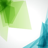 istock A blue and green abstract background on white 158818636