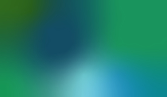 Blue and Green Blurred Motion Abstract Background