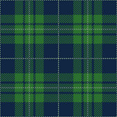 Blue And Green Tartan Plaid Seamless Pattern Design