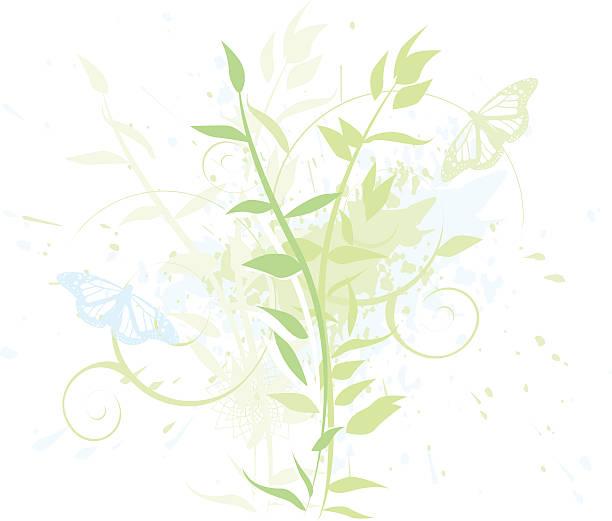 Niebieski i Zielony – artystyczna grafika wektorowa