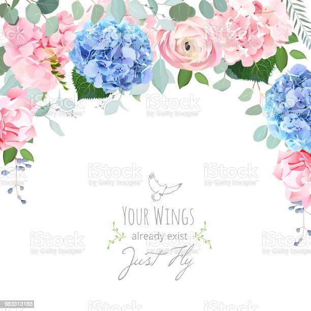Blue and pink hydrangea rose ranunculus carnation flowers vector id983313188?b=1&k=6&m=983313188&s=612x612&h=6eqlg4ll9ls8 aywblndvlwhb eeatu2u4mxgldwuiu=