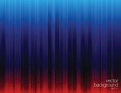 Vector of white line pattern and glowing lights abstract theme with blue and red color background. This illustration is an EPS 10 file with contains transparency effects.