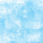 Blue and White Abstract Wall Texture. Grunge Vector Background.