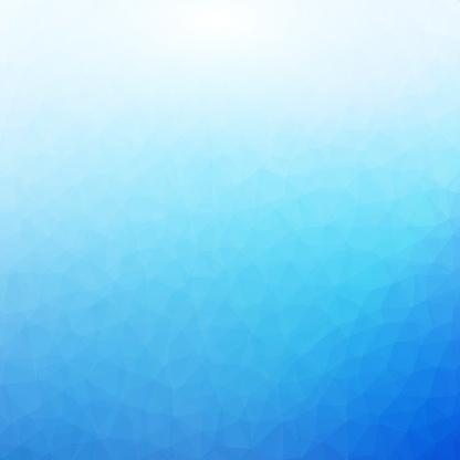 Blauwe En Witte Veelhoekige Mozaïek Achtergrond Stockvectorkunst en meer beelden van Abstract