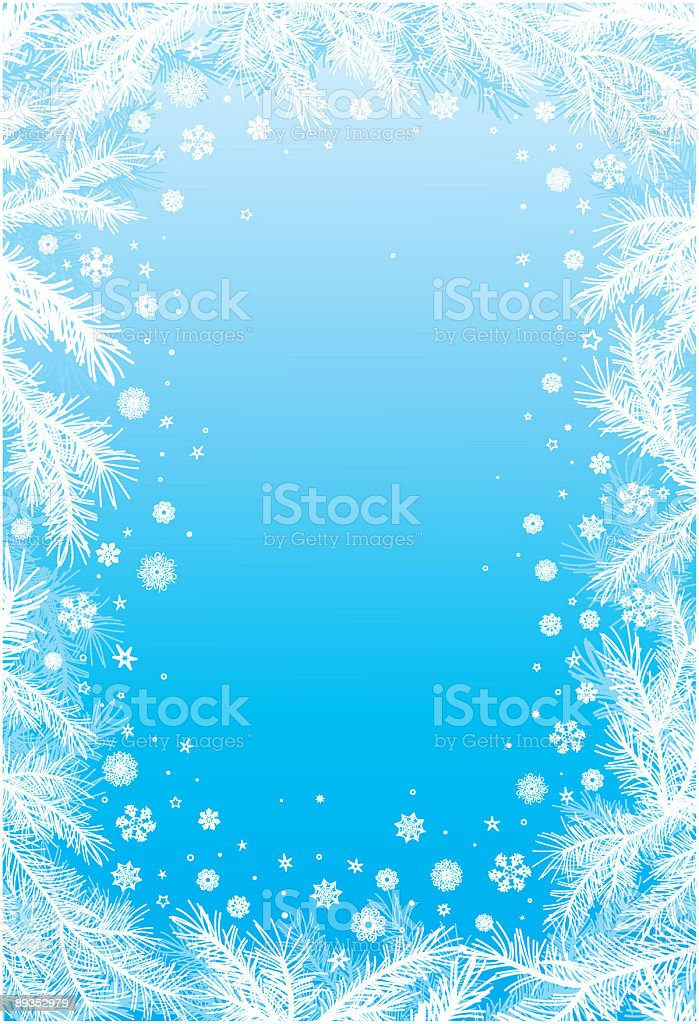 Blue and white snowflake frame royalty-free blue and white snowflake frame stock vector art & more images of backgrounds