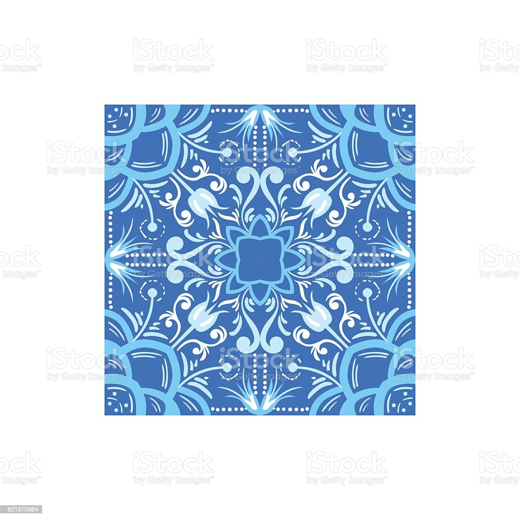 Blue And White Tile Portuguese Famous Symbol blue and white tile portuguese famous symbol – cliparts vectoriels et plus d'images de art et artisanat libre de droits