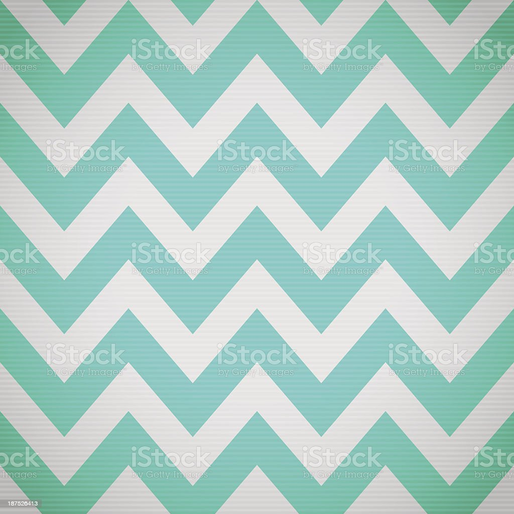 A blue and white zig zag background vector art illustration