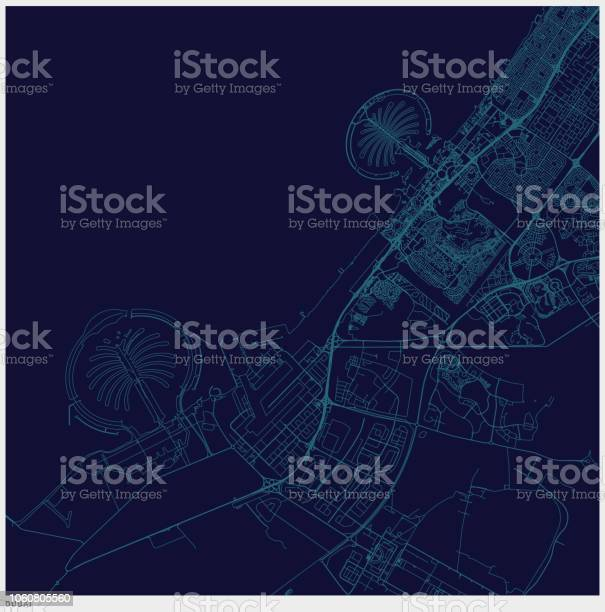 Blue art illustration style dubai map vector id1060805560?b=1&k=6&m=1060805560&s=612x612&h=uxh2clazuwfcw7re3zfgnt1gq0ugrh2r4jhplwocgty=