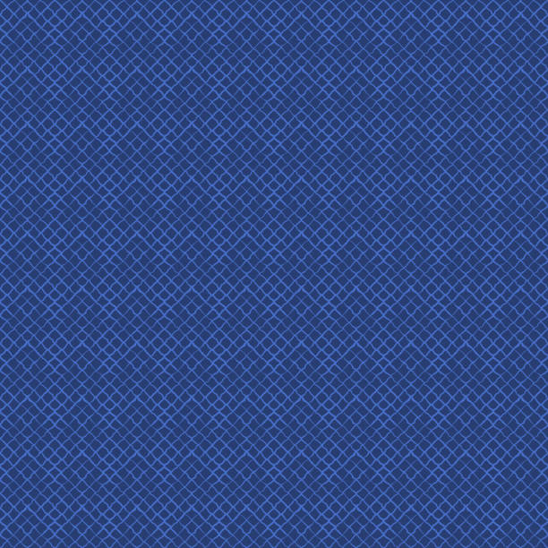 blaues, künstliches vektorgewebe-textur-muster. - wollteppich stock-grafiken, -clipart, -cartoons und -symbole