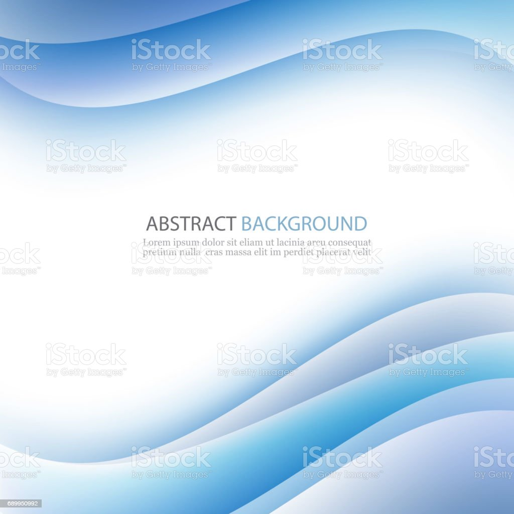 Blue background curve and line element vector vector art illustration