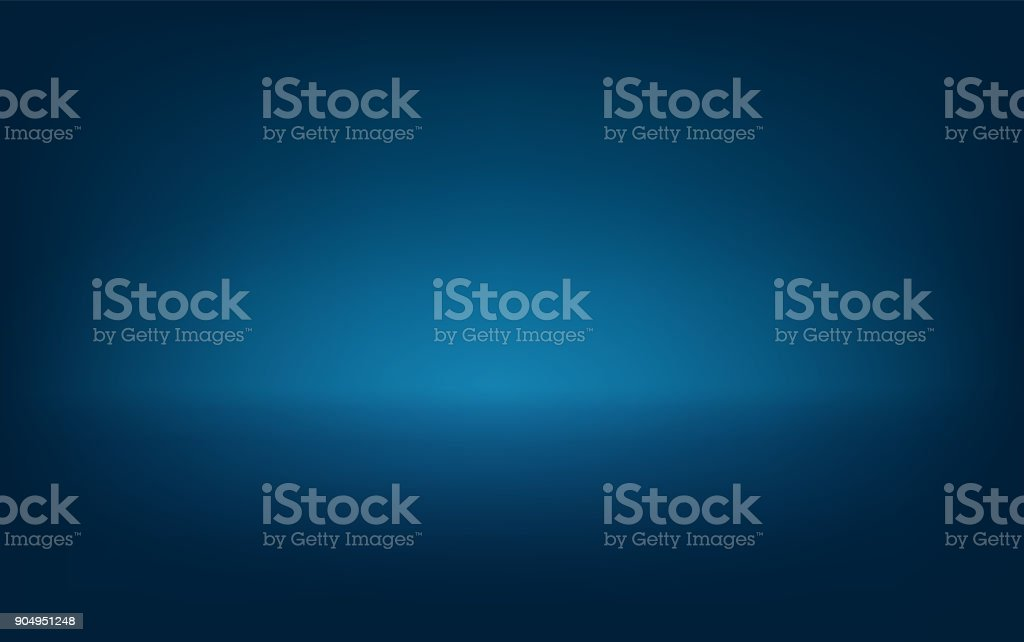 Blue background  Vector eps 10 Light down from above Light top Many lights on top Lighting stage, stage