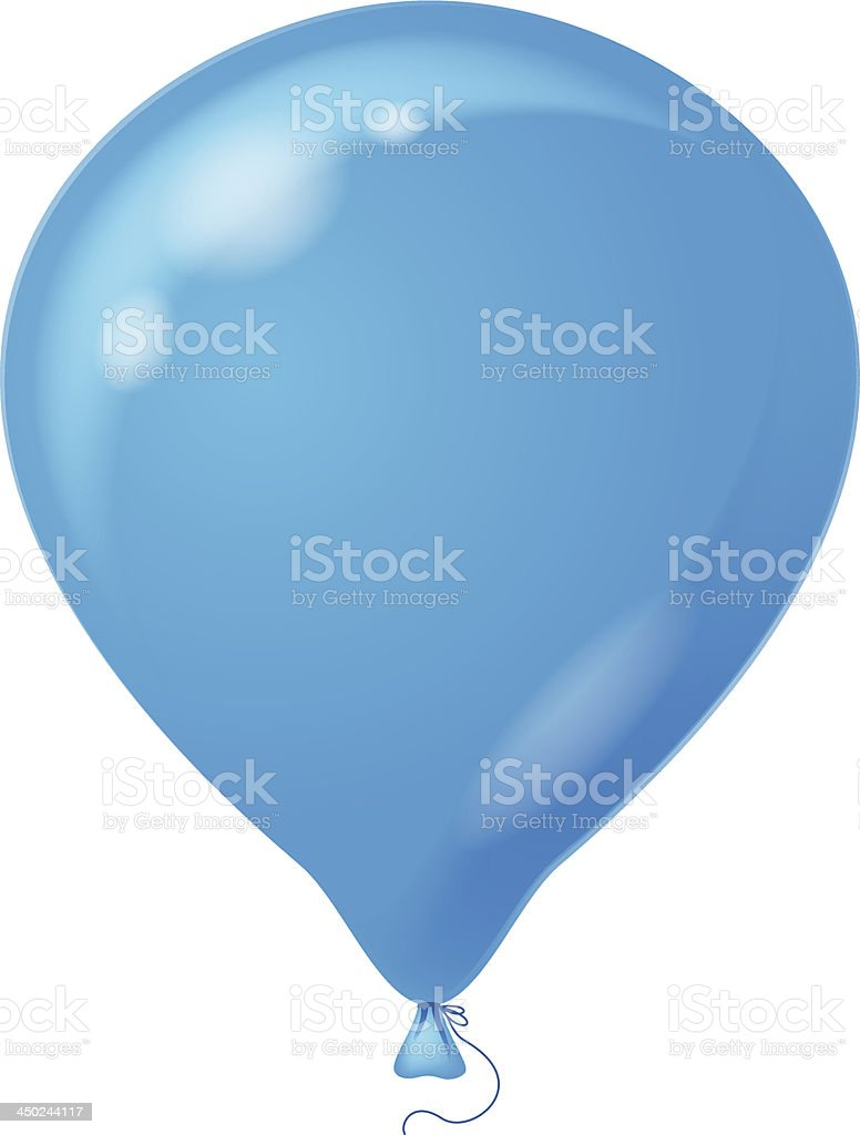 Blue balloon royalty-free blue balloon stock vector art & more images of anniversary