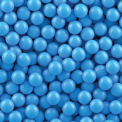 Blue balls background