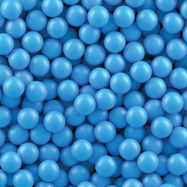 bildbanksillustrationer, clip art samt tecknat material och ikoner med blå bollar bakgrund - stor grupp av objekt