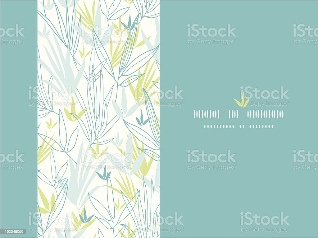 Blue bamboo branches vertical decor background royalty-free blue bamboo branches vertical decor background stock vector art & more images of abstract