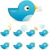 Blue Bird Set