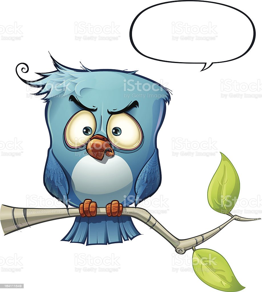 Blue Bird Wrathful