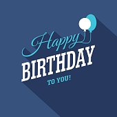 istock Blue Birthday Card 530499930