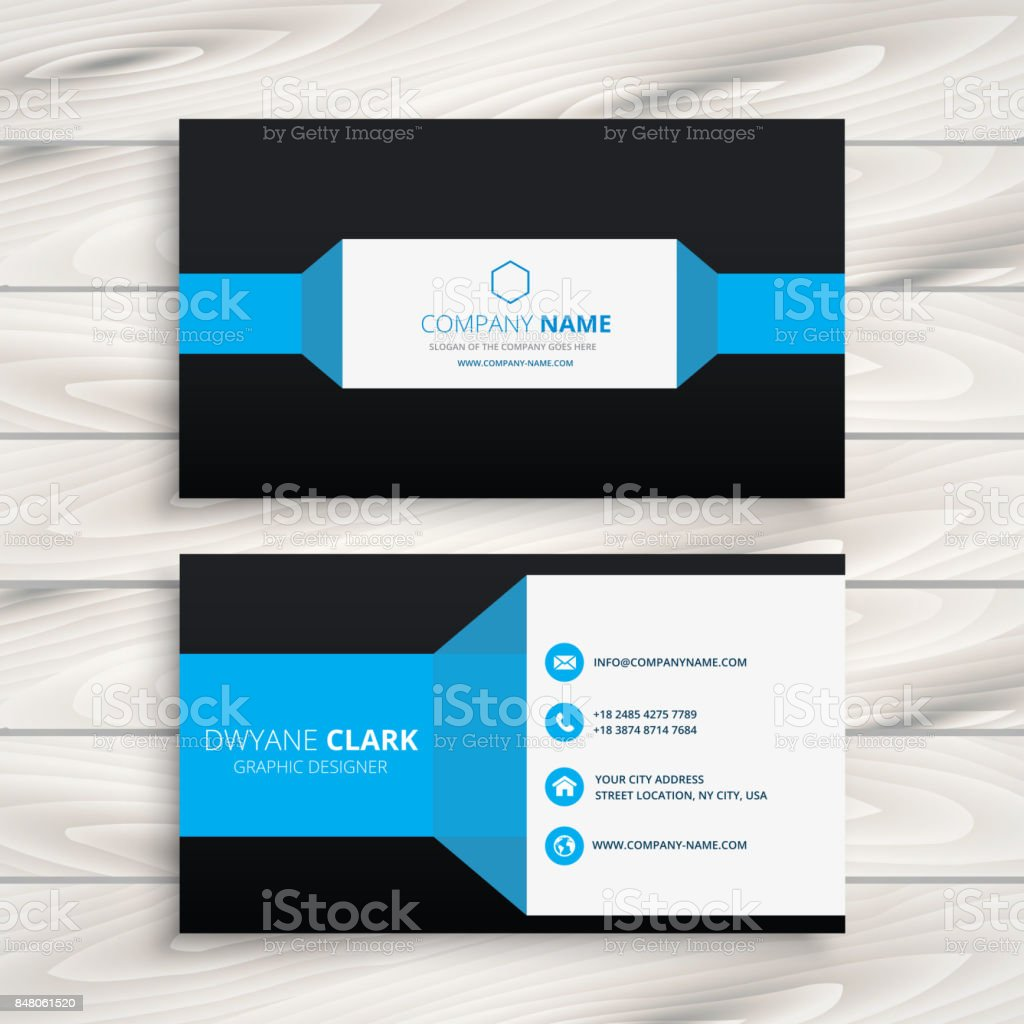 Business Card Vector Images - business card template word