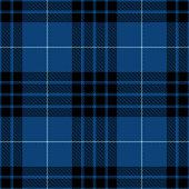 istock Blue Black Scottish Tartan Plaid Textile Pattern 1271282342