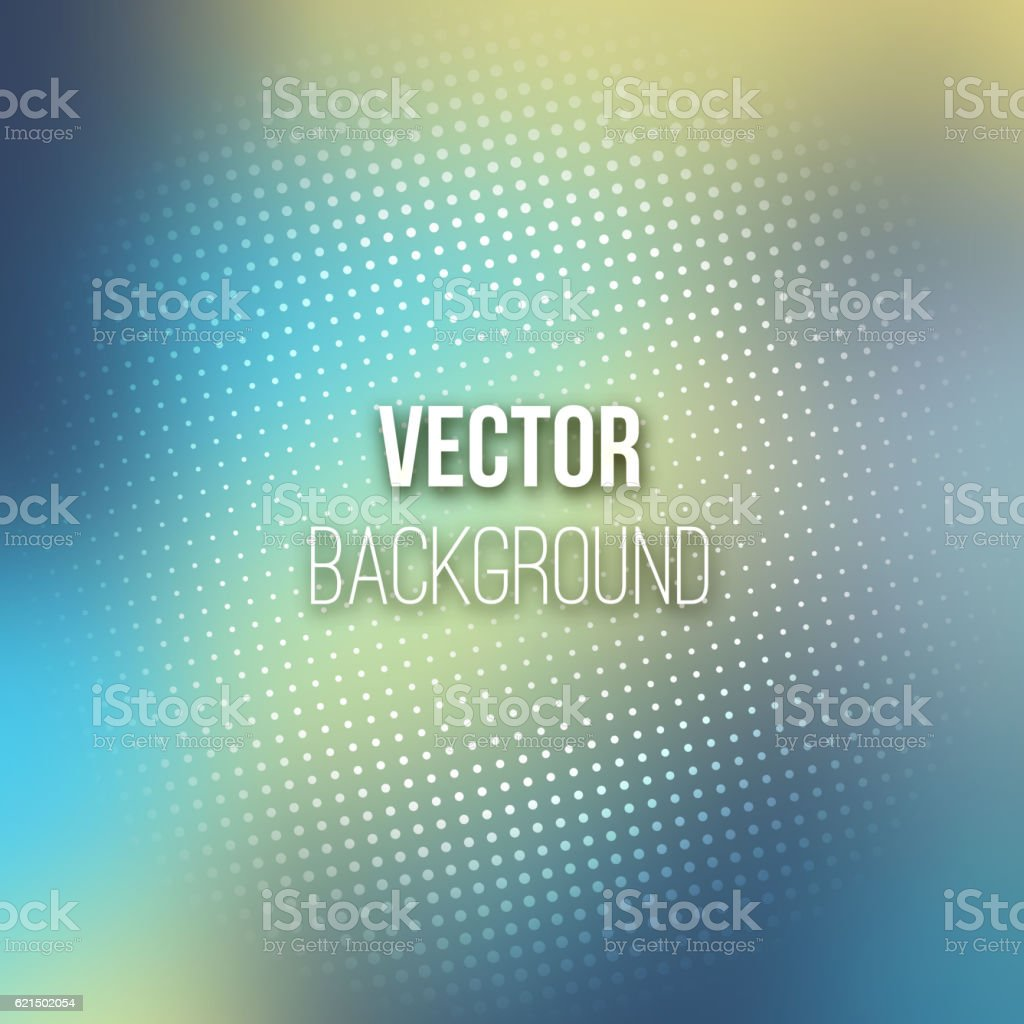 Blue verschwommene Hintergrund mit Halbton-Effekt Lizenzfreies blue verschwommene hintergrund mit halbtoneffekt stock vektor art und mehr bilder von abstrakt
