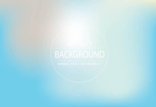 青い光ソフト グラデーション背景をぼかし - 夜明け点のイラスト素材/クリップアート素材/マンガ素材/アイコン素材