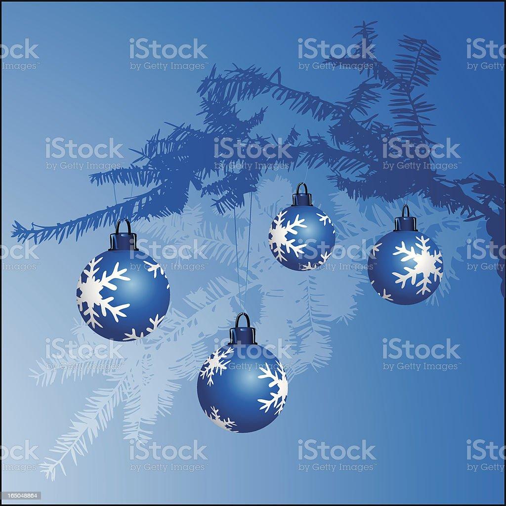 Blue Branch royalty-free stock vector art