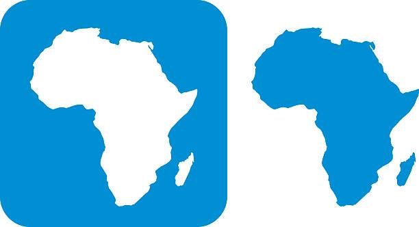 Blue Brazil Icon vector art illustration