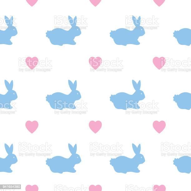 Blue bunnies pink hearts seamless pattern vector id941654380?b=1&k=6&m=941654380&s=612x612&h=kfnkin492x0dmx3cs87q4k8zromssov1 m8pa3dl0wo=