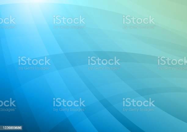 Blue Business Background Stock Illustration - Download Image Now