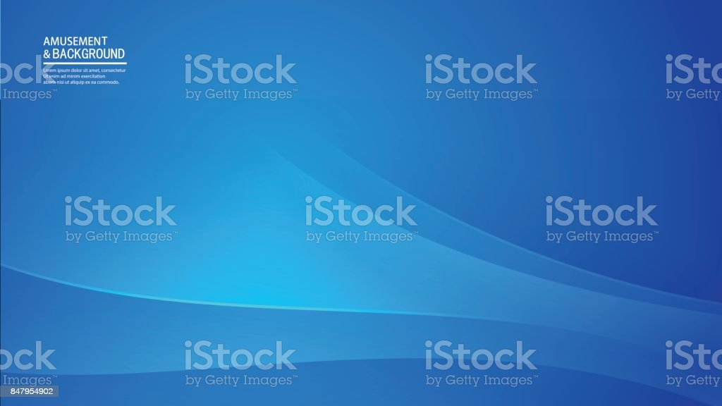 Blue business background vector art illustration