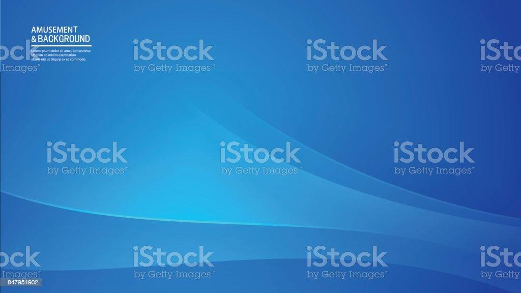 Negócios Fundo azul - ilustração de arte em vetor