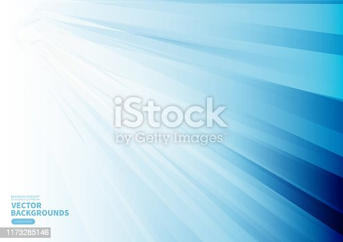 Blue business tech geometric background
