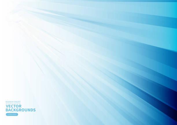 Blauer Business-Tech-Geometriehintergrund – Vektorgrafik