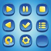 GUI elements.