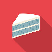 Blue Cake Gender Reveal Icon