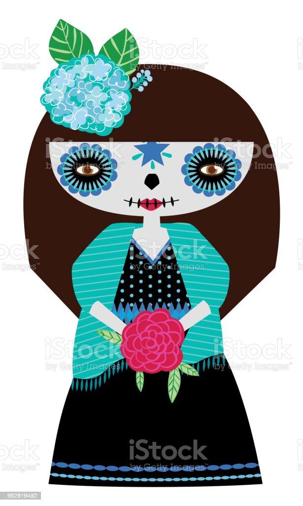 Di Catrina Doll Immagini Blue E Stock Vector Altre Art 80vNnOmw