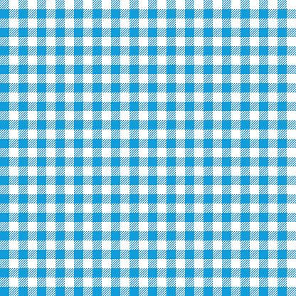 Blue checkered tablecloths patterns.