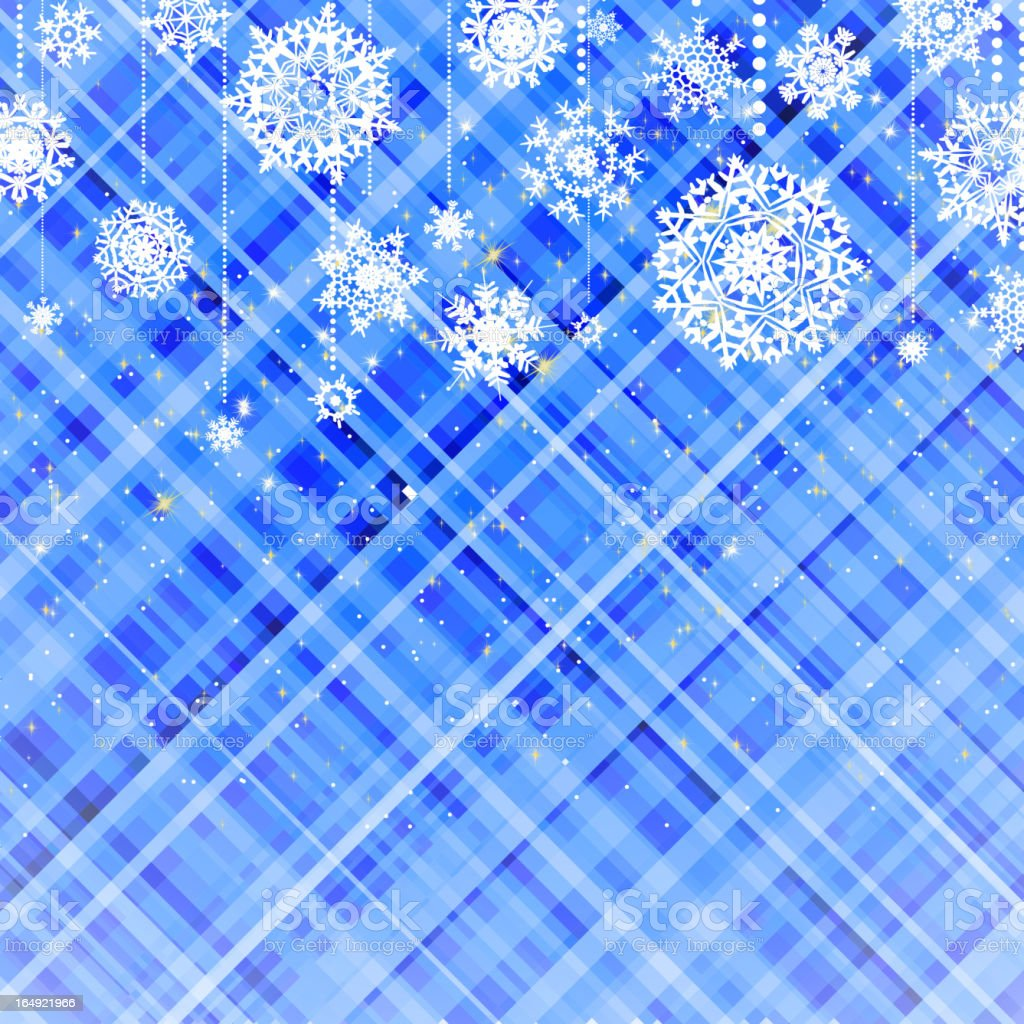 Blue christmas background. EPS 8 royalty-free stock vector art