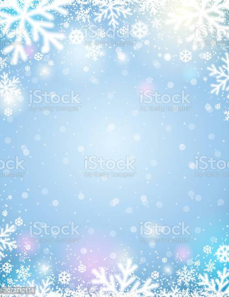 Blue christmas background with white blurred snowflakes vector vector id1073712114?b=1&k=6&m=1073712114&s=612x612&h=mfrb1u  zwxqxk9ntc3c7vhbf99d19rvmsc9itvdzqs=