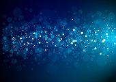 istock Blue Christmas glitter 1263930249